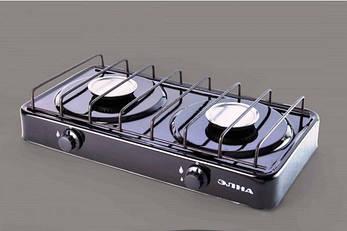 Газовая двухконфорочная плита «Элна» ПГ2-Н, фото 2