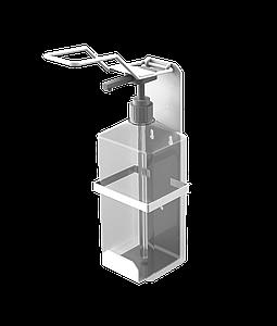 Локтевой диспенсер для мыла и антисептика SK EDW1K белый с флаконом дозатор держатель санитайзер
