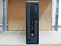 Мини компьютер для дома и офиса HP 800 G1 SFF (Core i3-4130/4GB/320GB/Windows 10 Pro Лицензия)