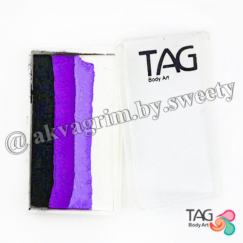 Аквагрим TAG Сплит кейк 30g Черный ирис