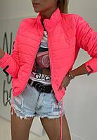 """Куртка жіноча демісезонна стьобана, розміри 42-48 (4кол) """"ASSORTI"""" купити недорого від прямого постачальника"""