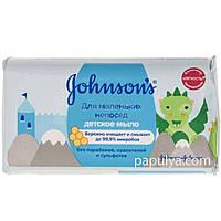 Мыло детское Johnson s Baby антибактериальное для маленьких непосед, 100 г