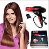Фен для волос Gemei GM-1719 1800 Вт - Профессиональный фен для укладки и сушки волос (Оранжевый), фото 5