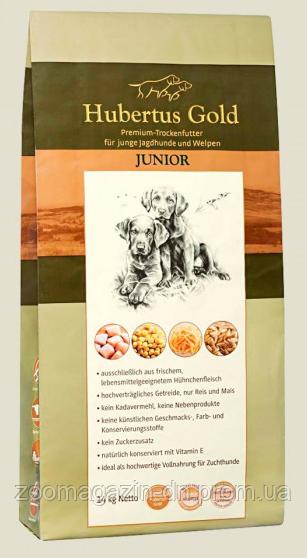 Hubertus Gold JUNIOR. Сухой корм для щенят, 14 кг