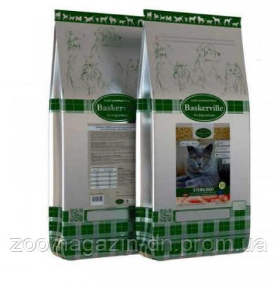 Baskerville Sterilised Katze Сухой корм  для стерилизованных и малоактивных котов, 0,4 кг