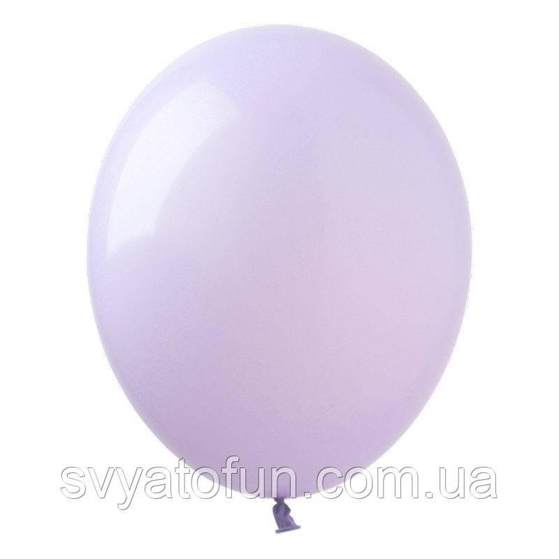 """Латексные воздушные шарики 12"""" Macaron Lavander (лавандовый) 20шт/уп Kalisan"""