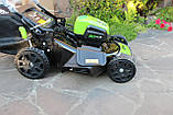 Мощная самоходная аккумуляторная  газонокосилка GreenWorks GD80LM51SP Pro 80V 51 см бесщёточная без АКБ и ЗУ, фото 7