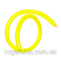 Латексні кульки ШДМ 160 жовтий 20, Sempertex