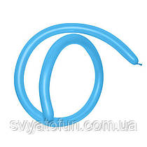 Латексные шарики ШДМ 160 Fashion Solid голубой 40 Sempertex