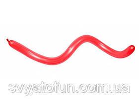 Латексні кульки ШДМ 360 червоний 15, 1 шт, Sempertex