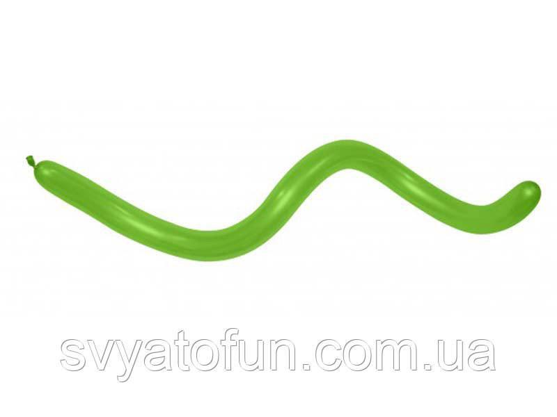 Латексные шарики ШДМ 360 Fashion Solid салатовый 31 1шт Sempertex