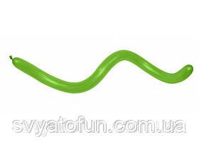 Латексні кульки ШДМ 360 Fashin Solid салатовий 31, 1 шт, Sempertex