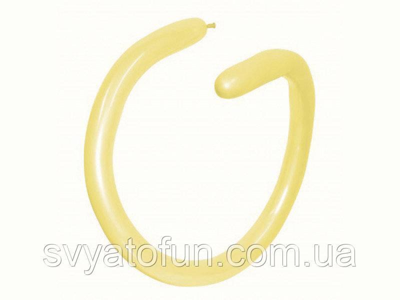 Латексні кульки ШДМ 260 Fashion Solid світло-жовтий 19, Sempertex