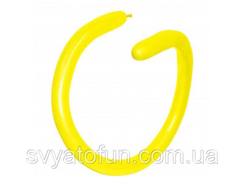 Латексные шарики ШДМ 260 Fashion Solid желтый 20 Sempertex