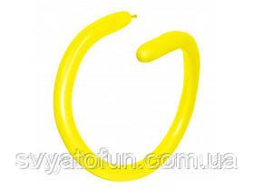 Латексні кульки ШДМ 260 Fashion Solid жовтий 20, Sempertex