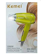 Кращий професійний електричний фен для волосся Kemei KM-6821