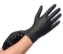 Рукавиці Нітрилові 100 шт. (чорні) ХL (50пар)