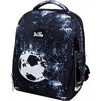 Набір: Рюкзак підлітковий, пенал, сумка - мішок De Lune (Італія) Футбольний м'яч, фото 1
