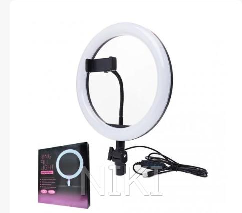 Светодиодная кольцевая лампа Ring Fill Light ZD666 (26см)