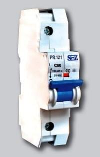 PR 121, PR 122, PR 123, PR 124 - автоматичні вимикачі