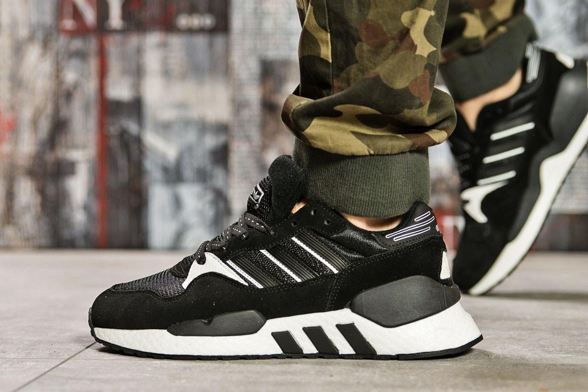Кроссовки мужские 15541, Adidas Original, черные, [ 40 41 43 ] р. 43-26,1см.