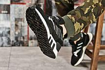 Кроссовки мужские 15541, Adidas Original, черные, [ 40 41 43 ] р. 43-26,1см., фото 3