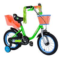 Велосипед Corso двухколесный с корзинкой собранный SKL11-179216