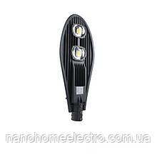 Светильник уличный 100 Вт 725x285x82 мм 9000 Лм 6500К IP65