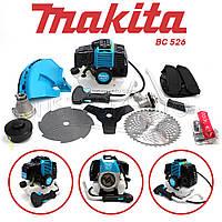 "Мотокоса Makita BC 526 (4.6 кВт, 2х тактный) Комплектация ""ЭКО"". Бензокоса Макита, кусторез, триммер"
