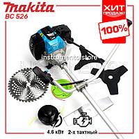 "Мотокоса Makita BC 526 (4.6 кВт, 2х тактный) Комплектация ""Стандарт"". Бензокоса Макита, кусторез, триммер"