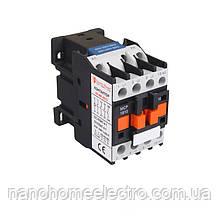 ElectroHouse Контактор магнітний 3P 18A 220-230V IP20 4НО