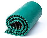 Аппликатор Ляпко 5,8 Ag Квадро размер 118 х 470 мм игольчатый коврик для позвоночника, спины, ног Зеленый, фото 3