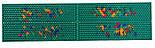 Аппликатор Ляпко 5,8 Ag Квадро размер 118 х 470 мм игольчатый коврик для позвоночника, спины, ног Зеленый, фото 5
