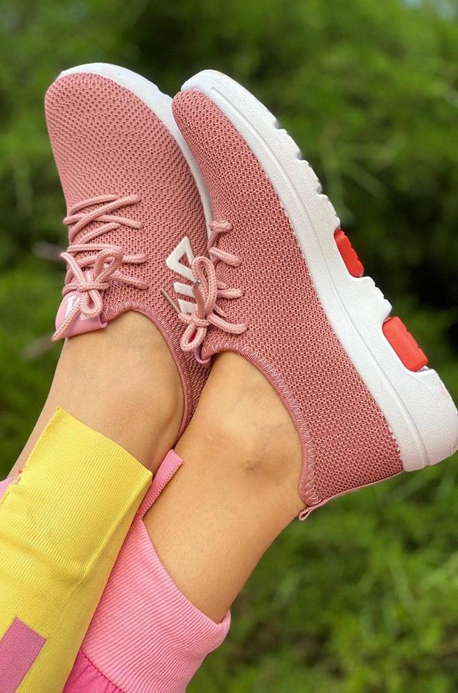 Кроссовки женские розовые AAA 2020-5