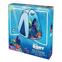 Детская Палатка В поисках Дори, 2 входа на липучке, синяя, с сумкой для хранения John finding Dory 75х75х95 см