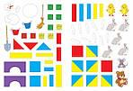 Математика с наклейками: геометрия и счёт (3-4 года), фото 5