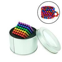 Неокуб конструктор головоломка магнитные шарики, серебряный