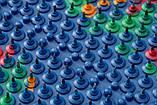 Аппликатор Ляпко 6,2 Ag Квадро размер 118 х 471 мм игольчатый коврик для позвоночника, спины, ног Синий, фото 4
