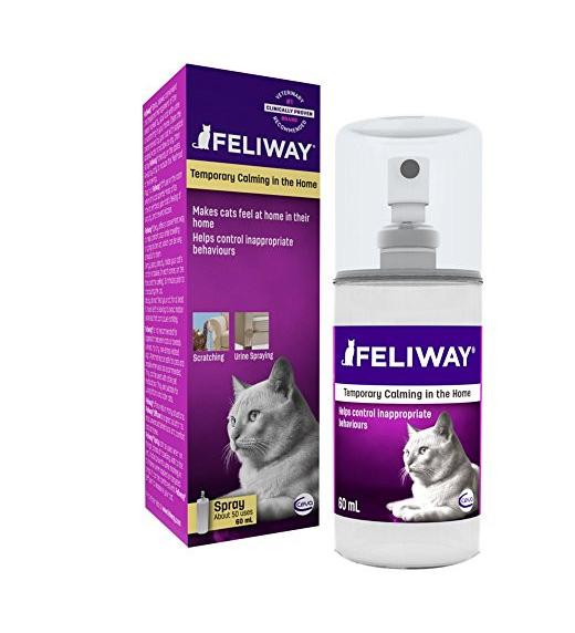 Спрей ФЕЛИВЕЙ Ceva Feliway для корекції поведінки кішок, 60 мл