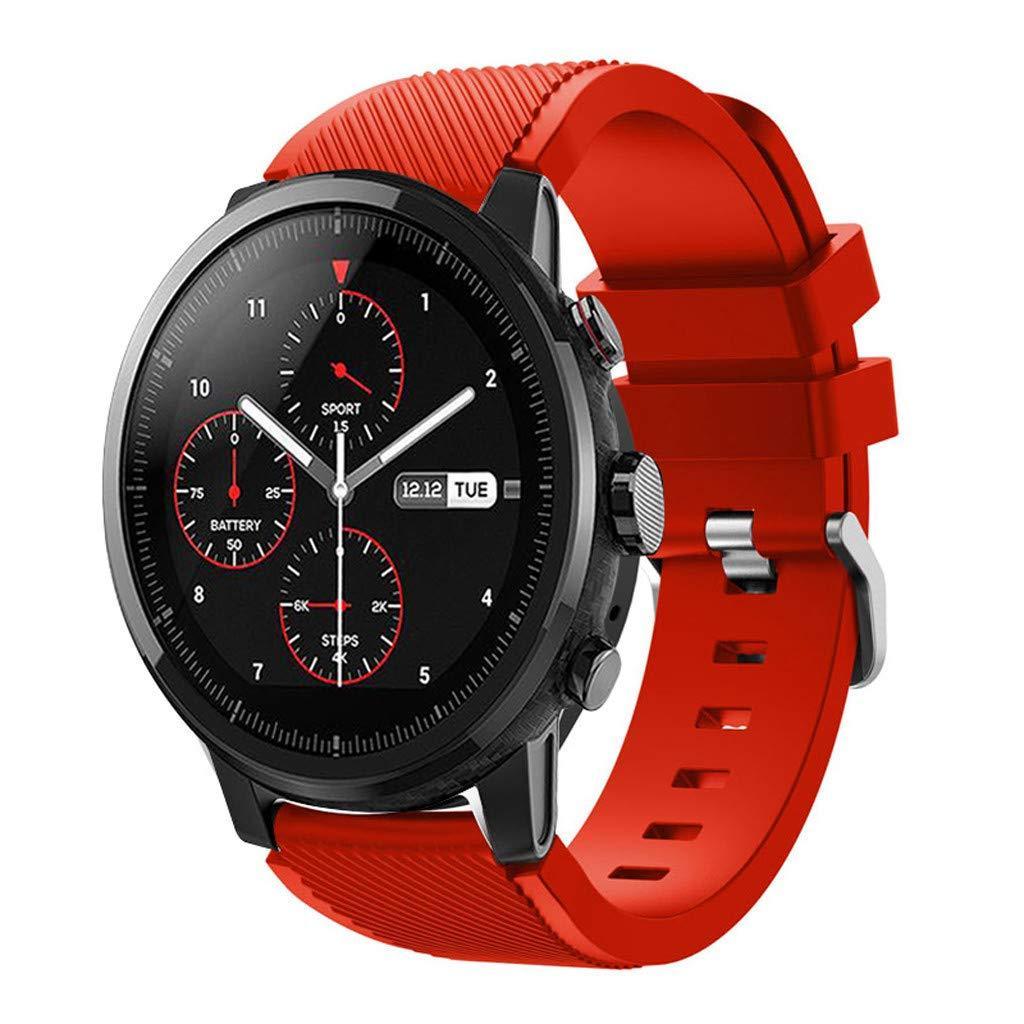 Ремешок силиконовый 22 мм BeWatch ECO для Samsung Gear S3  | Samsung Galaxy Watch 46 mm Красный (1021103.3)