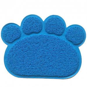 Коврик подстилка для домашних животных собак и кошек Paw Print Litter Mat 130768