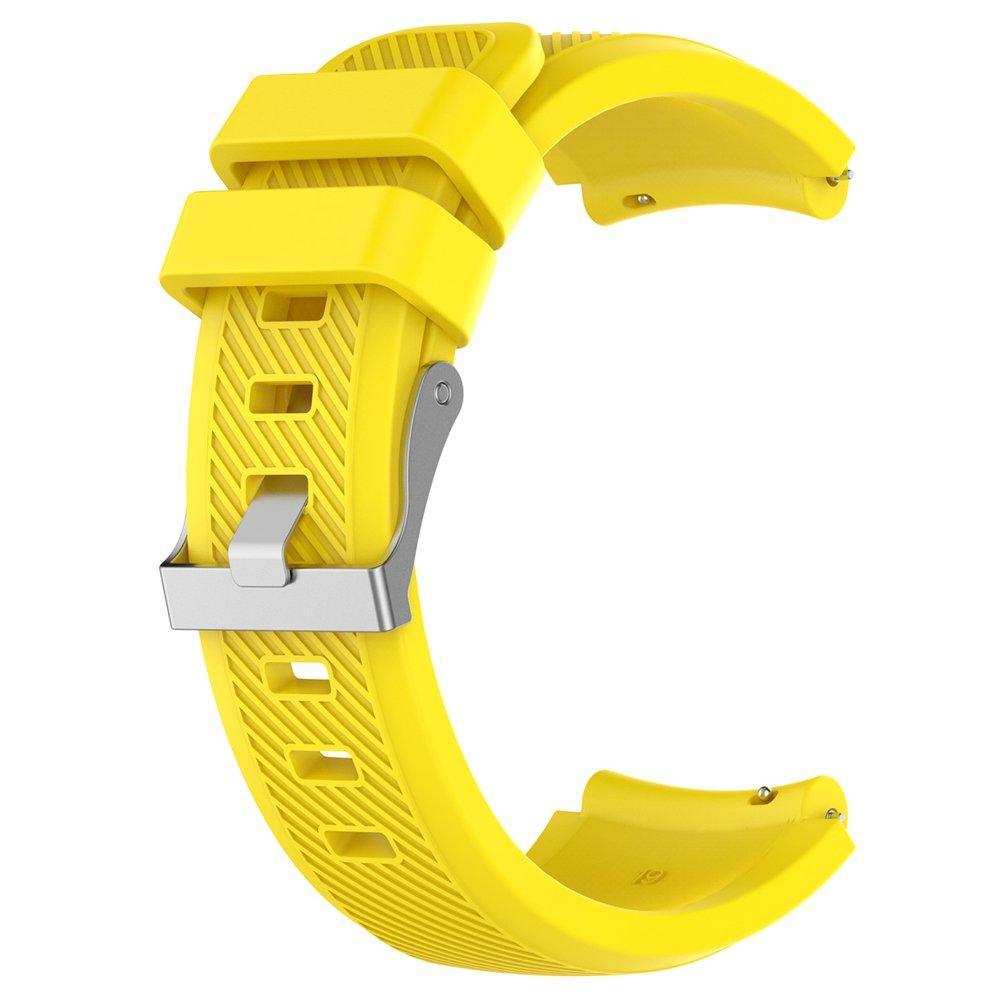 Ремешок силиконовый BeWatch ECO универсальный 22 мм Желтый (1021120)