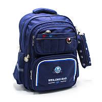 Вместительный школьный рюкзак с пеналом 3 Цвета