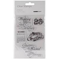 Набор акриловых штампов Kaisercraft St. Nicholas Clear Stamps 6 (CS114)