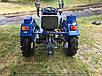 Мототрактор Forte MT-201 GT (фреза 1,2 м, синій), фото 10