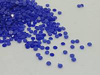Стразы мелкие Синие для декора ногтей
