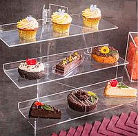 Акриловая подставка для десертов, кенди бара, фуршета