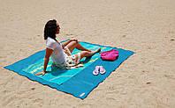 Пляжная подстилка анти-песок Sand Leakage Beach Mat,пляжный коврик,коврик для пикника,коврик для моря 200*200