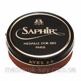 Паста для взуття Saphir Medaille d'or Pate De Luxe колір світло коричневий (03) 50 мл