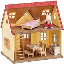 Sylvanian Families Уютный Домик шоколадного кролика Calico Critters Cosy Cottage Starter Home